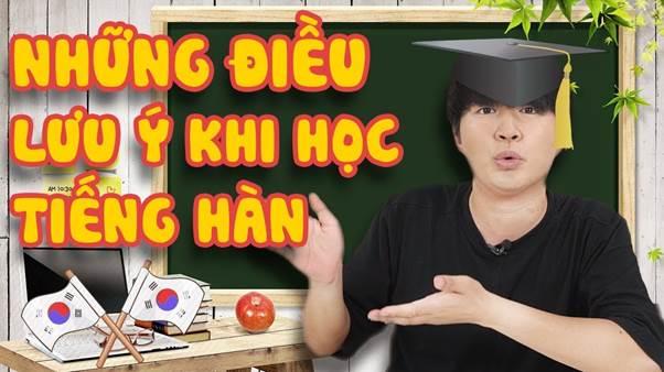 những điều lưu ý khi học văn bằng 2 tiếng Hàn