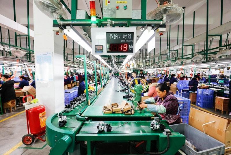 Hình ảnh được chụp tại một doanh nghiệp Trung Quốc