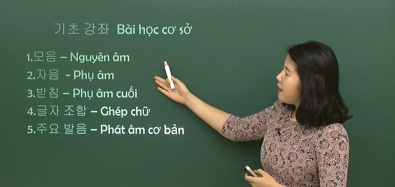 Cơ hội làm giảng viên Tiếng Hàn