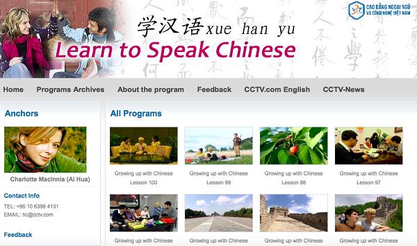 học tiếng Trung miễn phí