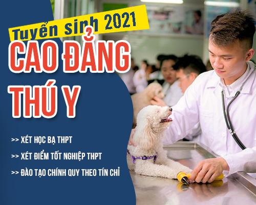 Thông báo tuyển sinh Cao đẳng Thú y năm 2021