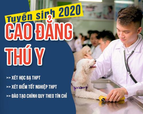 Thông báo tuyển sinh Cao đẳng Thú y năm học 2020-2021