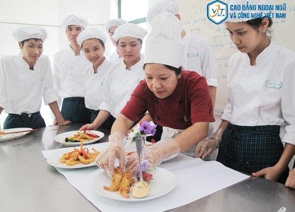 trường dạy nấu ăn